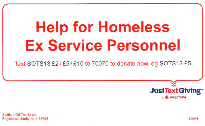 Help For Homeless Ex Service Personnel